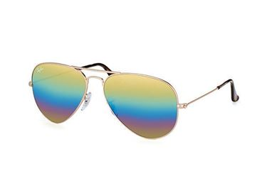 Imagen de RAY-BAN RB3025 9020C4 AVIATOR MINERAL FLASH LENSES BRONCE-COBRE GOLD RAINBOW
