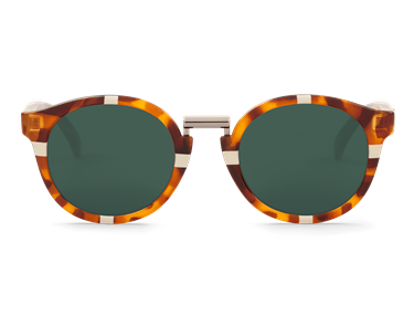 Imagen de CROSS CREAM/LEO TORTOISE FITZROY WITH CLASSICAL LENSES DE MR.BOHO