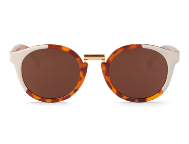 Imagen de CREAM/LEO TORTOISE FITZROY WITH CLASSICAL LENSES DE MR.BOHO