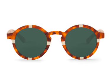 Imagen de CROSS CREAM LEO TORTOISE DALSTON WITH CLASSICAL LENSES DE MR.BOHO