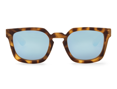 Imagen de HIGH CONTRAST TORTOISE SALESAS WITH SKY BLUE LENSES DE MR.BOHO