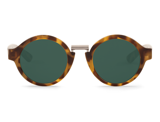 Imagen de HIGH CONTRAST TORTOISE HACKNEY WITH CLASSICAL LENSES DE MR.BOHO
