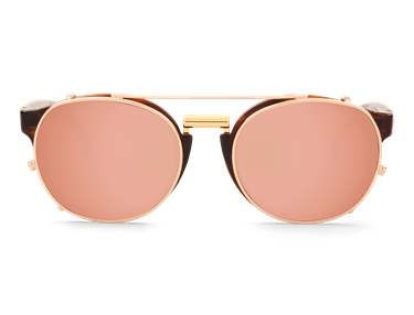 Imagen de VINTAGE TORTOISE NEWTOWN WITH COPPER LENSES DE MR.BOHO