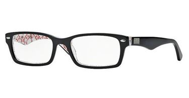 Imagen de RAY-BAN RB 5206 5014 TOP BLACK ON TEXTURE WHITE