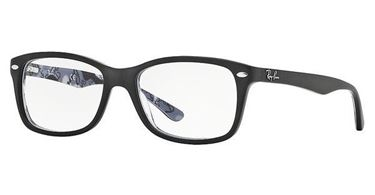 Imagen de RAY-BAN RB 5228 5405 L TOP MAT BLACK ON TEXT CAMUFLAGE