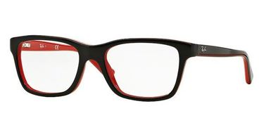Imagen de RAY-BAN JUNIOR RB 1536 3573 TOP BLACK ON RED