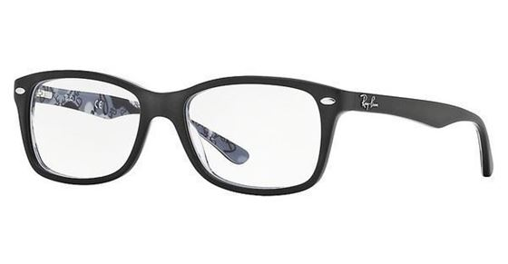 Imagen de RAY-BAN RB 5228 5405 M TOP MAT BLACK ON TEXT CAMUFLAGE