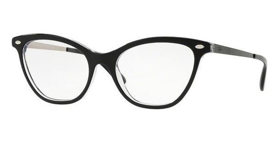 Imagen de RAY-BAN RB 5360 2034 TOP BLACK ON TRANSPARENT