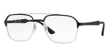 Imagen de RAY-BAN RB 6404 2861 BLACK AND SILVER
