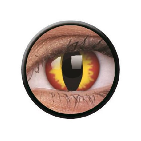 Imagen de Lentillas de colores Crazy Lens 3 Meses DRAGON EYES de ColourVue
