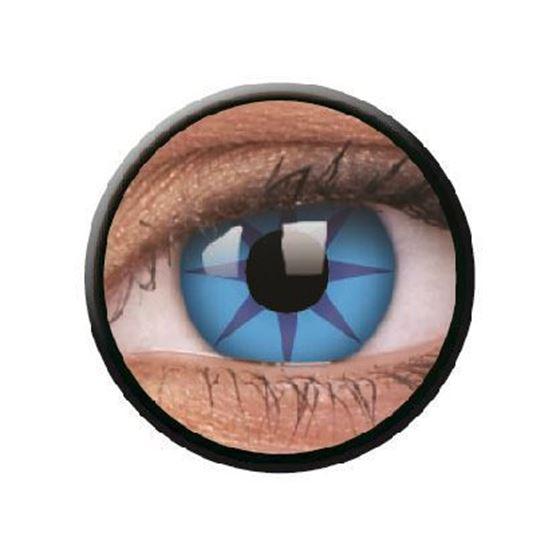 Imagen de Lentillas de colores Crazy Lens 3 Meses BLUE STAR de ColourVue