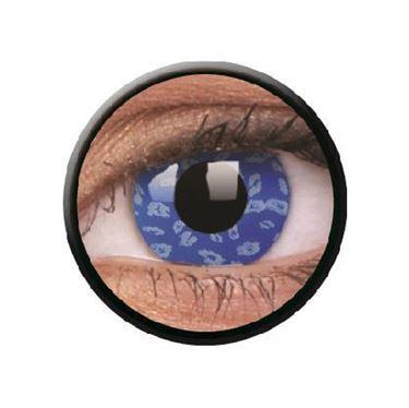 Imagen de Lentillas de colores Crazy Lens 3 Meses BLUE LEOPARD de ColourVue