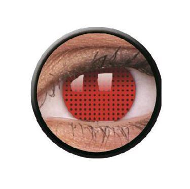 Imagen de Lentillas de colores Crazy Lens 3 Meses RED SCREEN de ColourVue