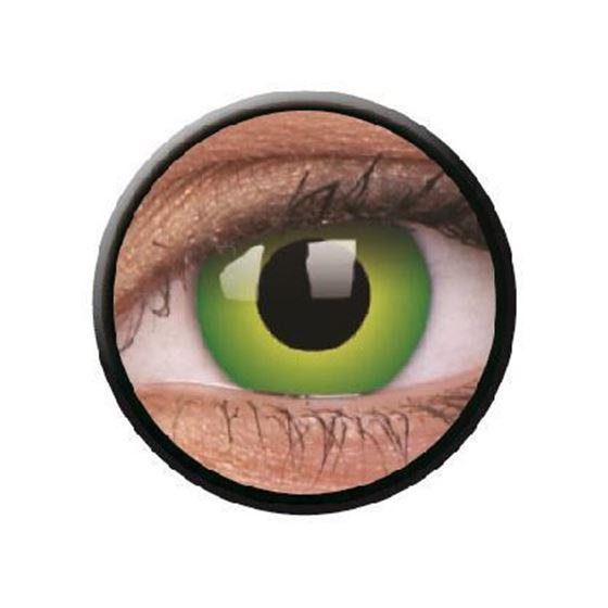 Imagen de Lentillas de colores Crazy Lens 3 Meses HULK GREEN de ColourVue