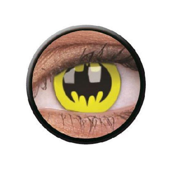 Imagen de Lentillas de colores Crazy Lens 3 Meses BAT CRUSADER de ColourVue