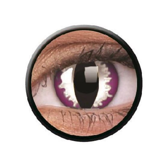 Imagen de Lentillas de colores Crazy Lens 3 Meses PURPLE DRAGON de ColourVue