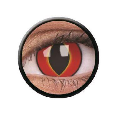 Imagen de Lentillas de colores Crazy Lens 3 Meses MAD FROG de ColourVue