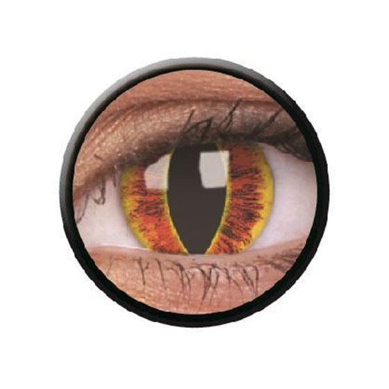 Imagen de Lentillas de colores Crazy Lens 3 Meses SAURON´S EYE de ColourVue