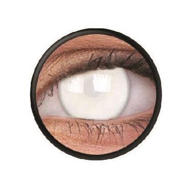 Imagen de Lentillas de colores Crazy Lens 3 Meses BLIND WHITE de ColourVue