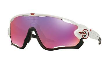 Gafas de sol Oakley Jawbreaker Blanca con lentes Prizm Road