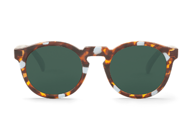 Imagen de HAZE TORTOISE JORDAAN WITH CLASSICAL LENSES DE MR.BOHO