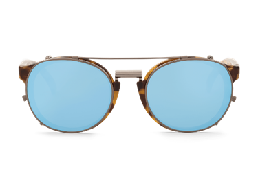 Imagen de HIGH-CONTRAST NEWTOWN WITH SKY BLUE LENSES DE MR.BOHO