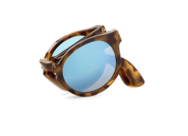 Imagen de HIGH-CONTRAST TORTOISE FOLDABLE JORDAAN WITH SKY BLUE LENSES DE MR.BOHO