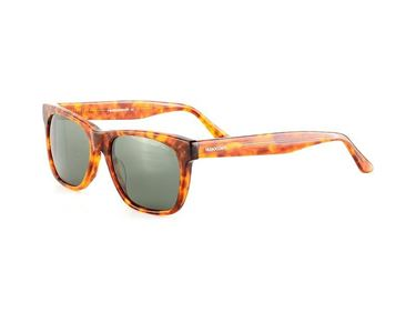Gafas de Sol Hugo Conti polarizadas 6140 en color habana claro translúcido.