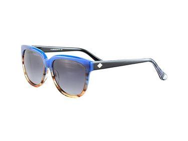 Gafas de Sol Polarizadas Hugo Conti 6131 azul degradado con varilla negra