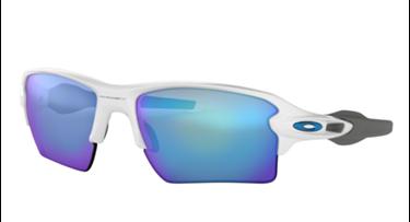 Gafas de sol Oakley Flak 2.0  Matte White con lentes Saphire Blue