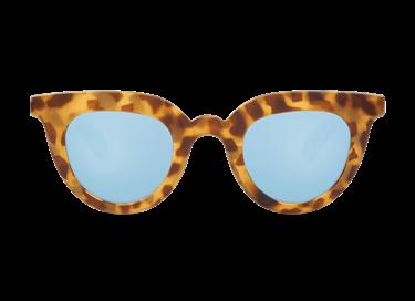 Gafa de sol Mr.Boho Hayes Habana con lente espejo azul