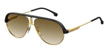 Gafas de sol Carrera1017/S piloto negras y doradas
